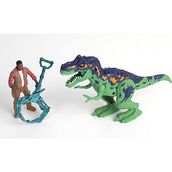 Chap Mei Игровой набор Аллозавр и охотник
