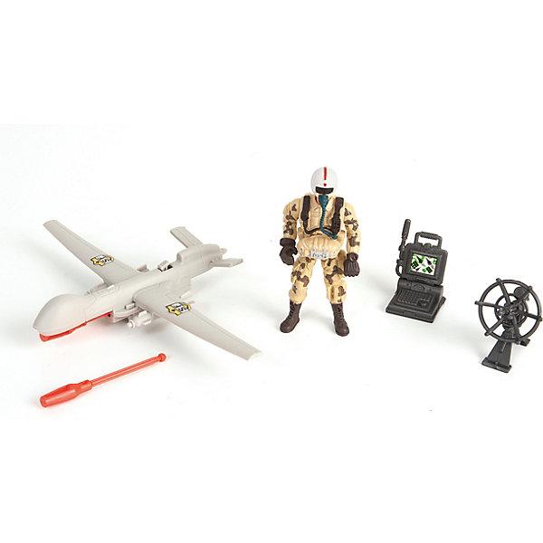 Chap Mei Игровой набор Cолдат с самолетом-беспилотником