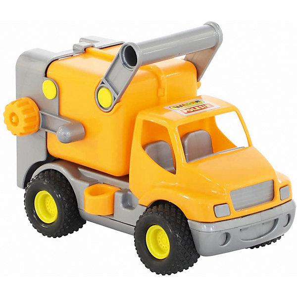 Полесье Автомобиль коммунальный КонсТрак, оранжевый