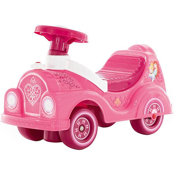 Купить Каталка-автомобиль Полесье Принцессы Disney, Беларусь, разноцветный, Женский