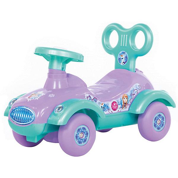 Каталка-автомобиль Полесье Disney Холодное сердце, Беларусь, разноцветный, Женский  - купить со скидкой