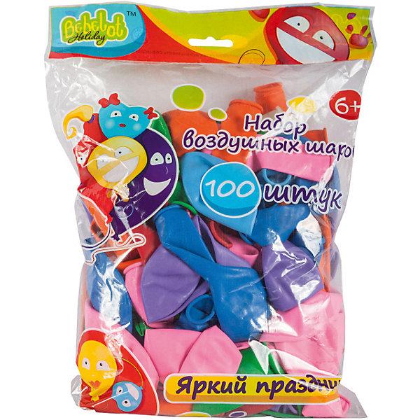 Bebelot Набор воздушных шаров Holiday 30 см, 100 шт