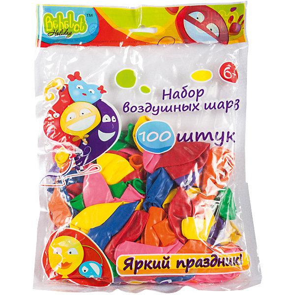 Bebelot Набор воздушных шаров Bebelot Holiday 20 см, 100 шт