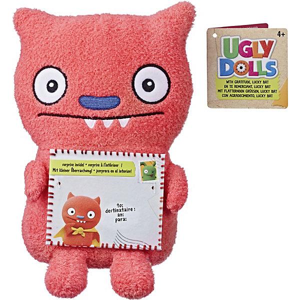 Hasbro Мягкая игрушка Ugly Dolls С благодарностью Счастивчик Бэт, 11 см