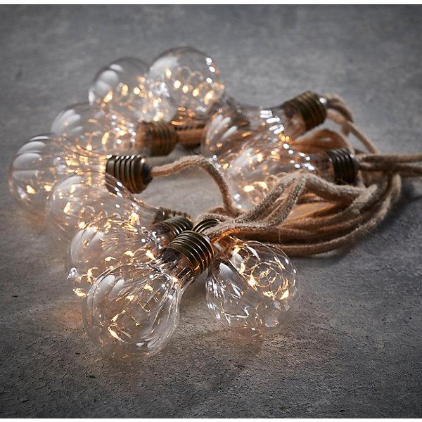 Luca lighting Электрогирлянда Ретро, рефленые лампы