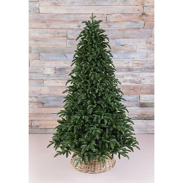 Triumph Tree Ель Triumph Tree Нормандия, пушистая, темно-зеленая triumph tree искусственная елка triumph tree императрица с шишками заснеженная 155 см белая зеленая