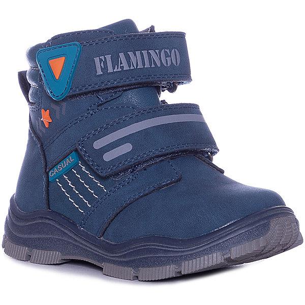 Купить Ботинки Flamingo, Китай, синий, 25, 27, 26, 23, 24, 22, Мужской