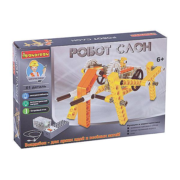 Bondibon Конструктор Робот-слон, 61 деталь