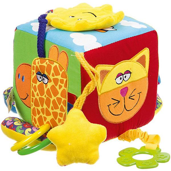 Bondibon Мягкая развивающая игрушка Baby You Куб