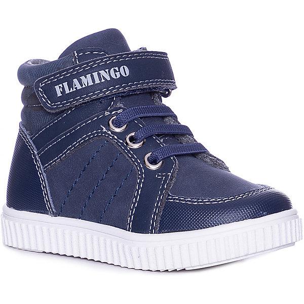 Купить Ботинки Flamingo, Китай, темно-синий, 22, 27, 26, 25, 24, 23, Мужской