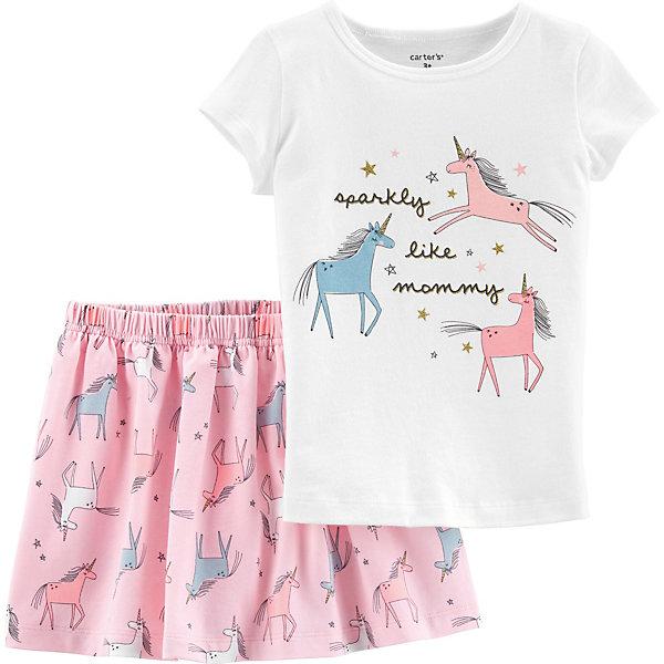 carter`s Комплект carter`s: футболка и юбка
