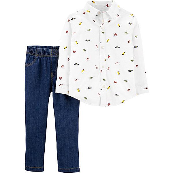carter`s Комплект carter`s: рубашка и брюки цена