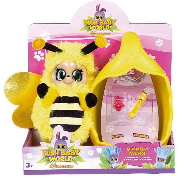 Bush Baby World Интерактивная игрушка baby world Пчелка Бри, 20 см