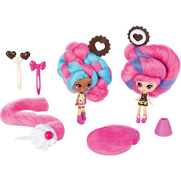 Spin Master Набор мини-кукол Candylocks Сахарная милашка Чарли и Чип, 8 см