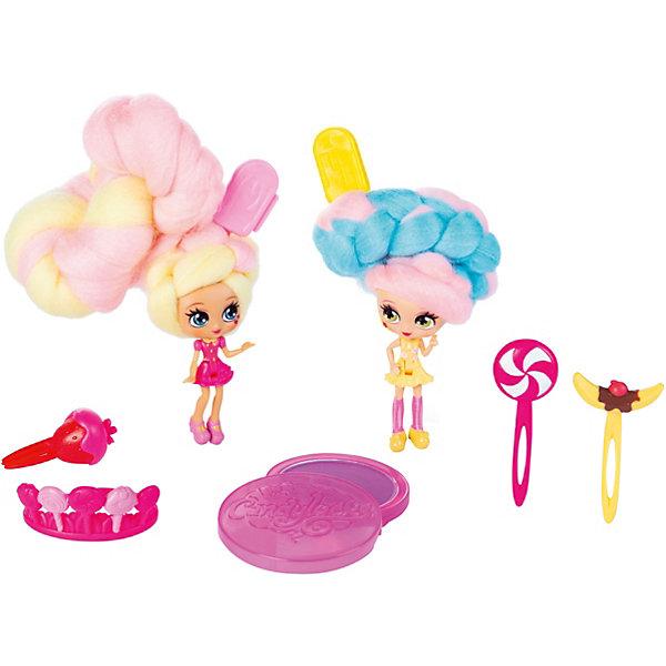 Spin Master Набор мини-кукол Candylocks Сахарная милашка Керри и Берри, 8 см