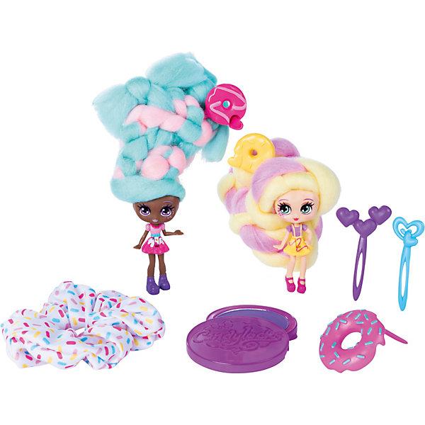 Spin Master Набор мини-кукол Candylocks Сахарная милашка Донна и Нат, 8 см