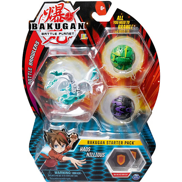 Spin Master Cтартовый игровой набор Spin Master Bakugan цена