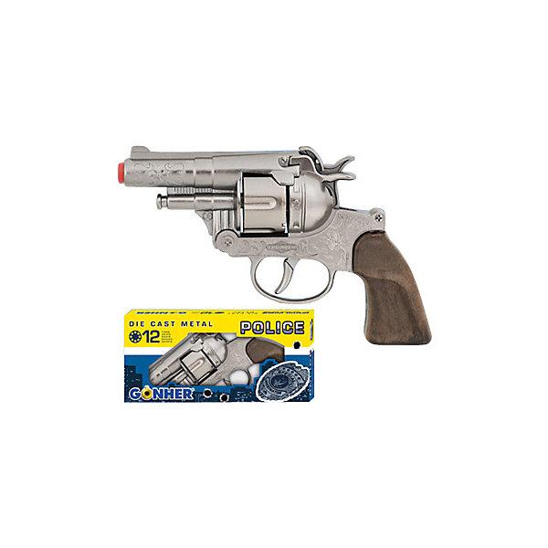 Gonher Револьвер Police 12 пистонов