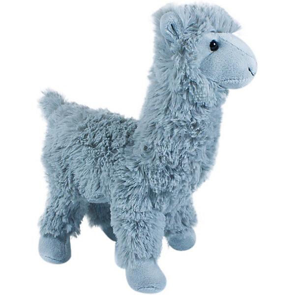 Teddykompaniet Мягкая игрушка Teddykompaniet Лама, серая, 32 см teddykompaniet пинетки кот большие 12 см динглисар
