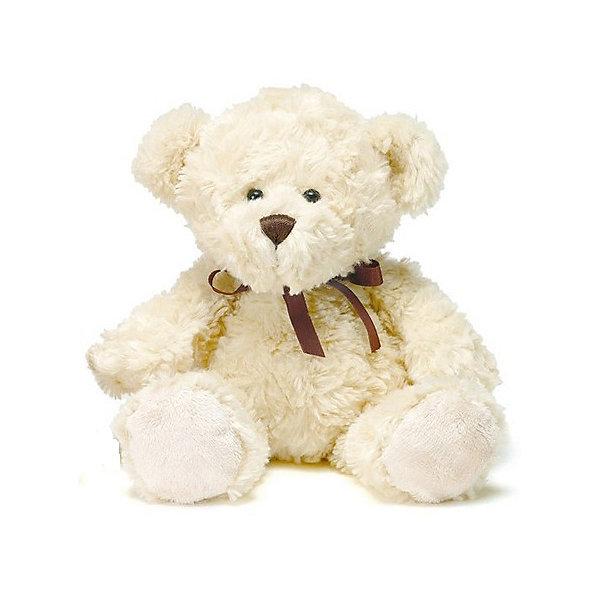 Мягкая игрушка плюшевый мишка Хьялле 20 см, светло-коричневый фото