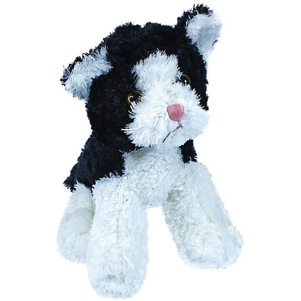 Купить Мягкая игрушка Teddykompaniet котенок, черно-белый, 23 см, Китай, черный, Унисекс