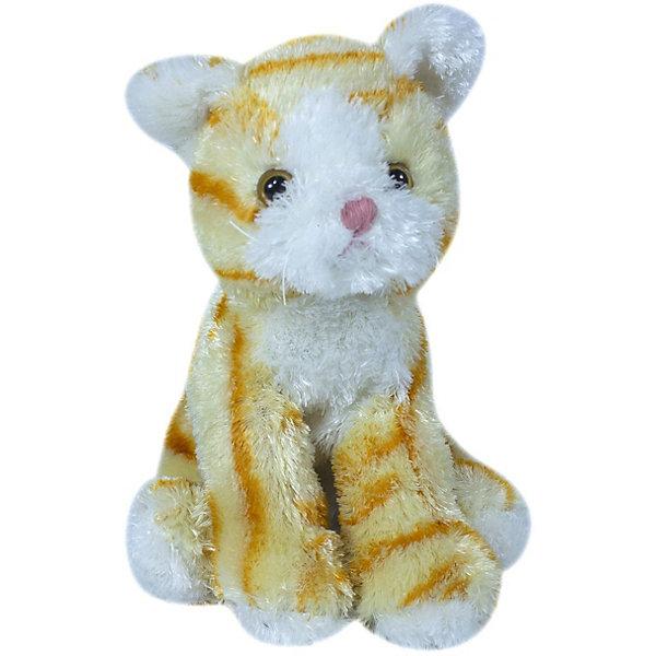 Купить Мягкая игрушка Teddykompaniet Котенок, черно-белый, 23 см, Китай, оранжевый, Унисекс