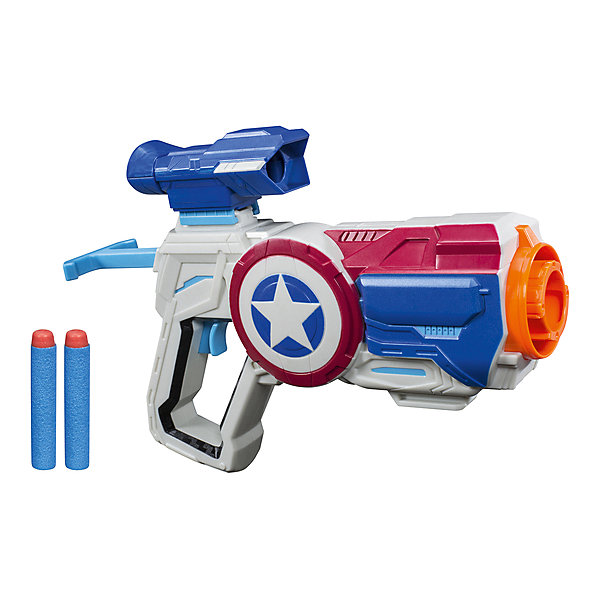 Hasbro Сборная экипировка-бластер Avengers Nerf Капитан Америка