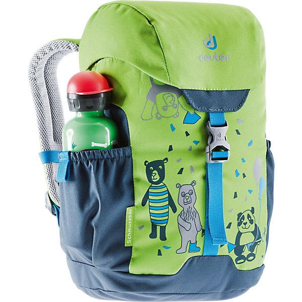Deuter Рюкзак Deuter Schmusebär, салатово-синий рюкзак deuter stepout 16 фиолетовый синий 16 л