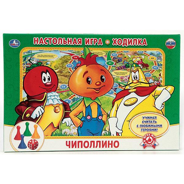 Купить Настольная игра-ходилка Умка Чипполино, Россия, Унисекс