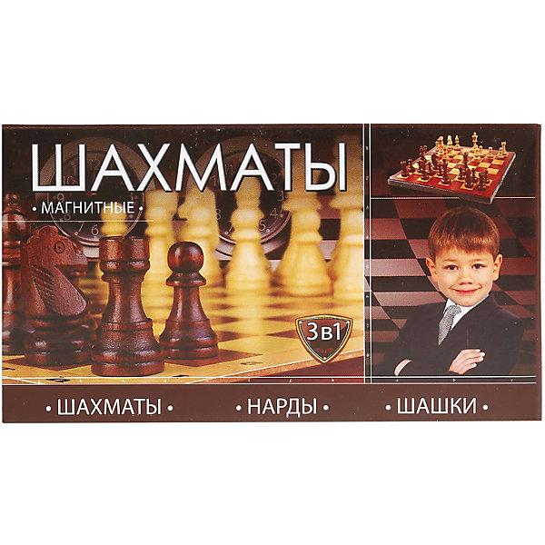 Играем вместе Шахматы Вместе, магнитные 3-в-1