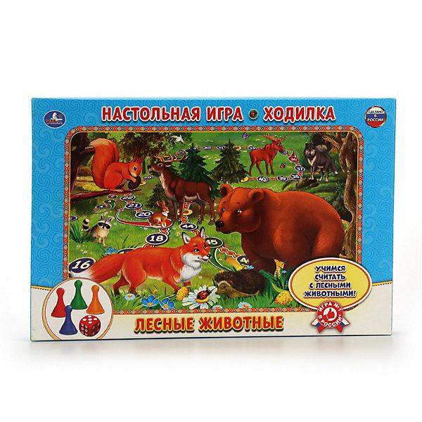 Купить Настольная игра-ходилка Умка Лесные животные, Россия, Унисекс