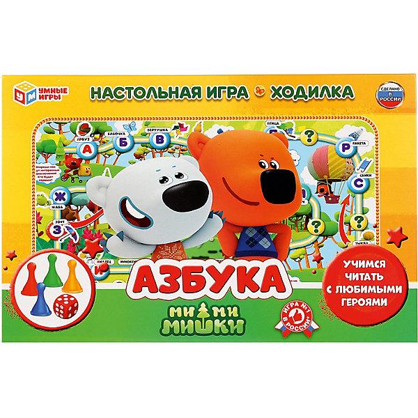 Умка Настольная игра-ходилка Умные игры Азбука, мимимишки