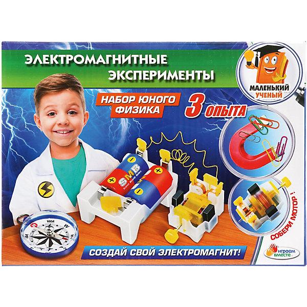 Купить Игровой набор Играем Вместе Электромагнитные эксперименты, Играем вместе, Китай, разноцветный, Унисекс