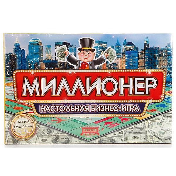 Умка Настольная бизнес-игра Умные игры Миллионер