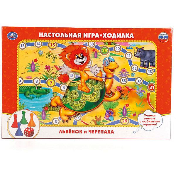 Умка Настольная игра-ходилка Львенок и черепаха