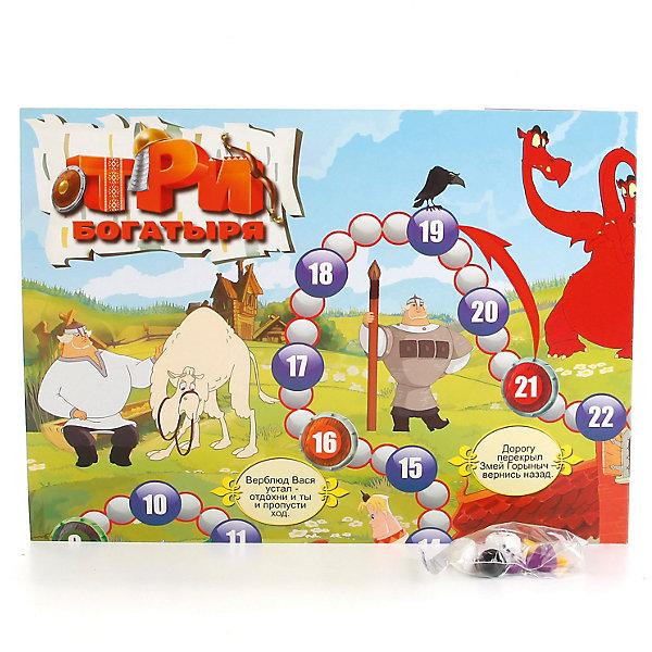 Умка Настольная игра-ходилка Три богатыря