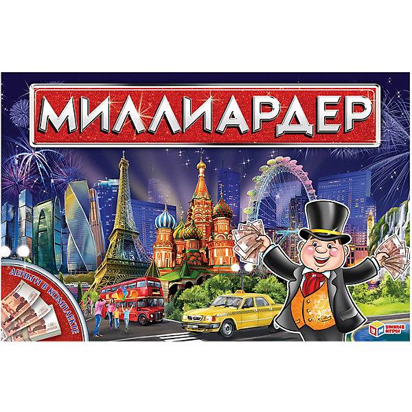 Умка Настольная экономическая игра Умные игры Миллиардер