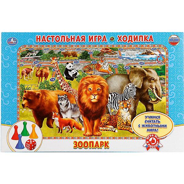Купить Настольная игра-ходилка Умка Зоопарк, Россия, Унисекс