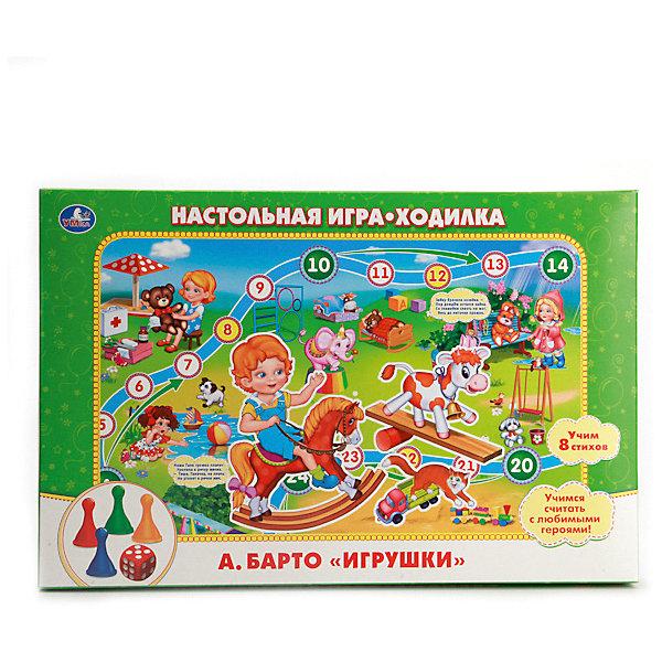 Настольная игра-ходилка Умка А. Барто, Игрушки