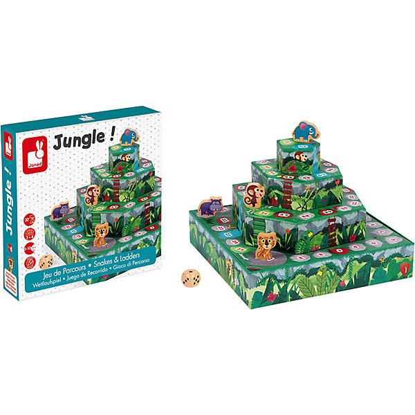 Janod Настольная игра Гонки по джунглям