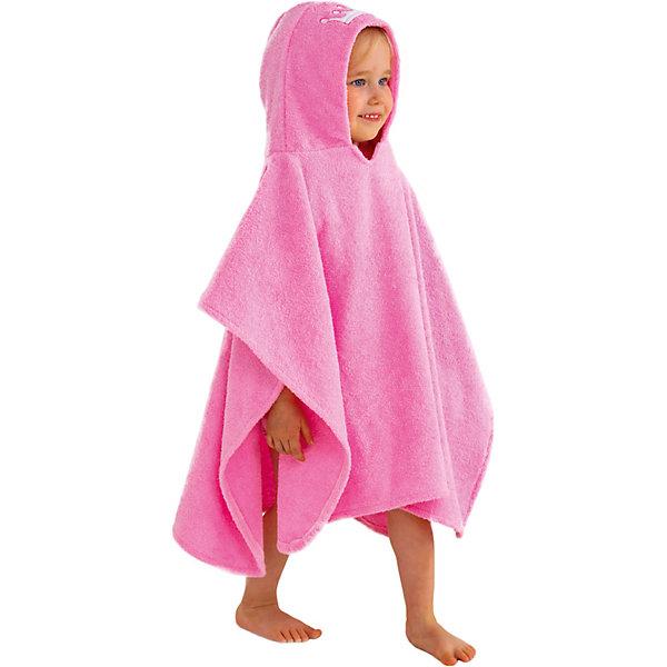Купить Полотенце с капюшоном BabyBunny, размер L, Россия, блекло-розовый, one size, Женский