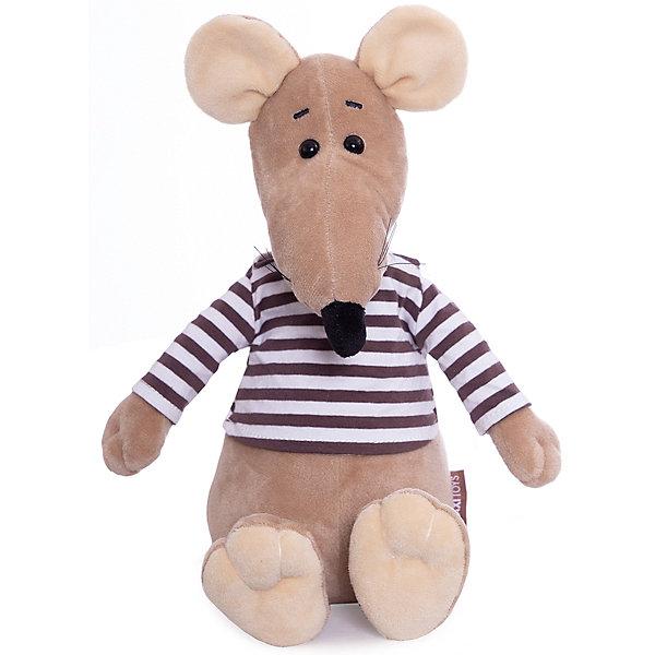 Maxitoys Мягкая игрушка Luxury Крыс Крис в Тельняшке, 27 см
