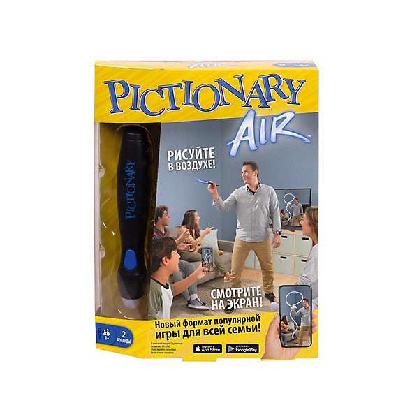 Mattel Интерактивная игра Games Pictionary Air