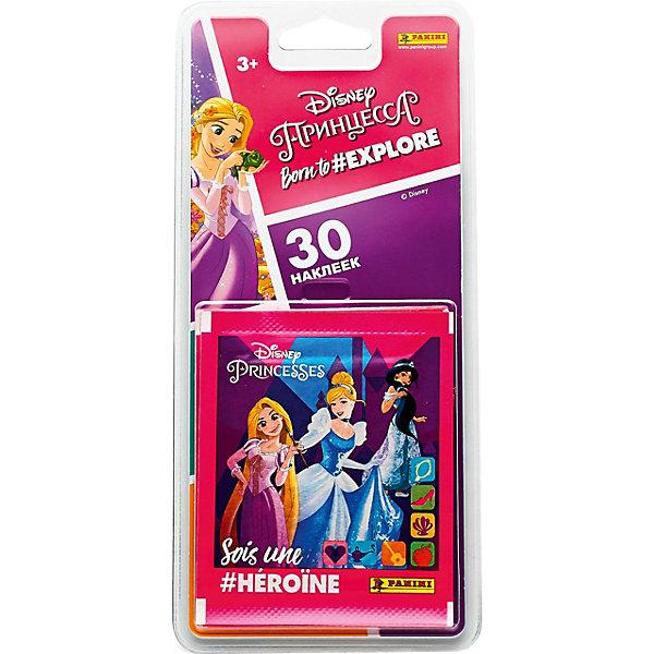 Panini Блистер с наклейками Принцессы Disney Рождена, 6 пакетиков