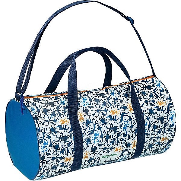Lilliputiens Спортивная сумка Носорог Мариус, синяя