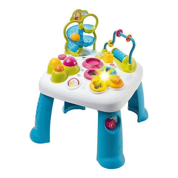 Smoby Развивающий игровой стол Smoby Cotoons, синий smoby smoby cotoons набор для купания рыбалка 9 предметов