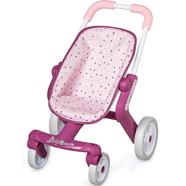 Smoby Коляска прогулочная для пупса Smoby Baby Nurse коляска для кукол smoby baby nurse прогулочная 24063