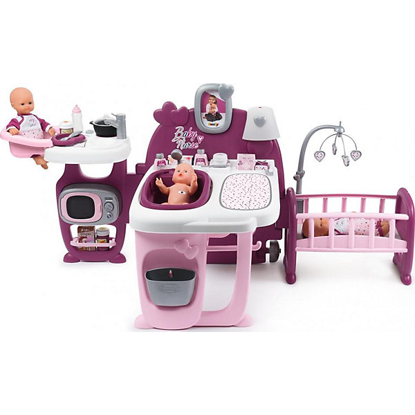 Большой игровой центр для пупса Smoby Baby Nurse