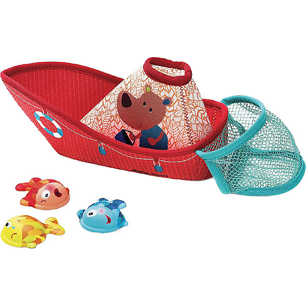Lilliputiens Игровой набор для ванны Рыбацкая лодка