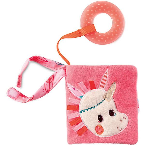 Lilliputiens Книжка-игрушка Единорожка Луиза, мини